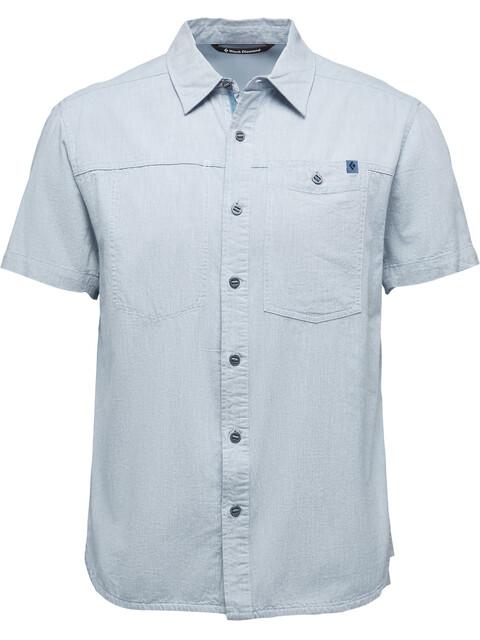 Black Diamond M's Chambray Modernist SS Shirt Blue Steel
